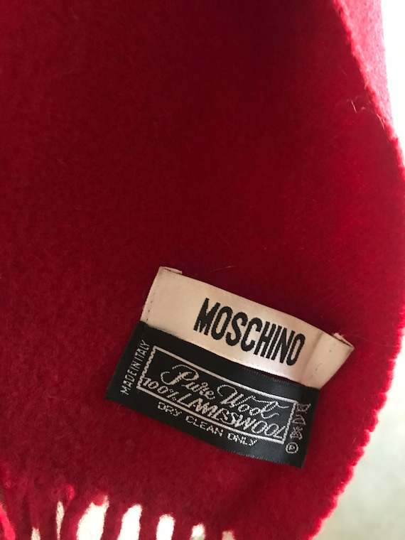Moschino scarf 1990s - image 6
