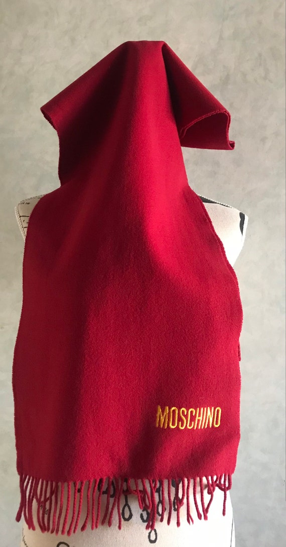 Moschino scarf 1990s - image 2