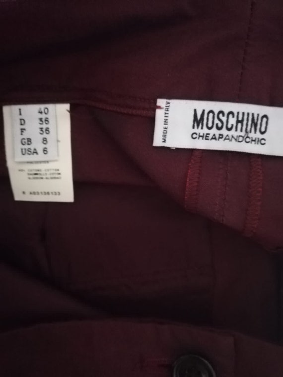 Moschino Trousers 1990s - image 6