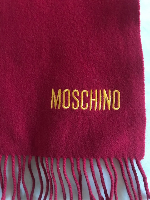 Moschino scarf 1990s - image 5