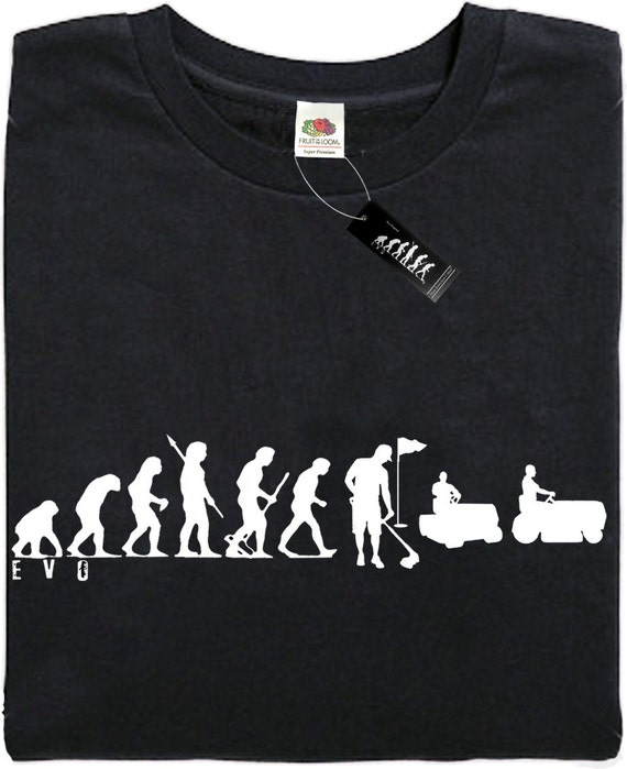 present gift - Black Brand new Mans Evolution T-Shirt® MOUNTAINEERING ape