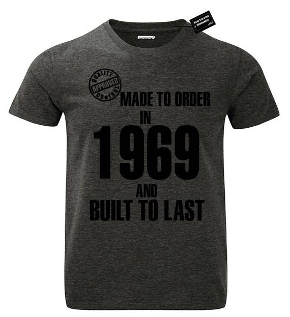 Last Stop Biker Motorcycle Repair 1969 USA Mens Charcoal Grey T Shirt