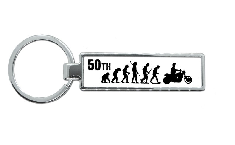 Mans Evolution APE TO GUITAR Key Ring  brand new gift present Original EVO
