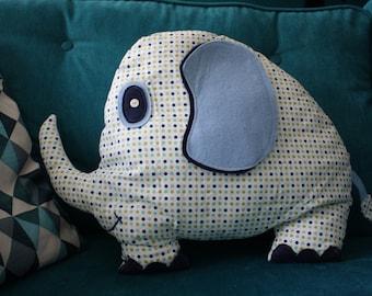 Elephant cuddly toy - pillow child Barry the elephant nursery decor