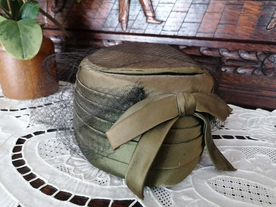 Old French woman hat, Vintage chapel, Old ceremoni