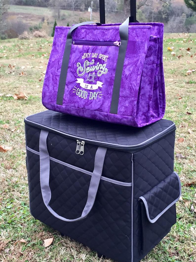 f7bdec292af7 Ultimate carry all designer bag for sewing and other crafts