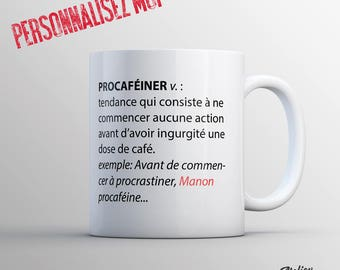 A customizable mug for morning people... Or not