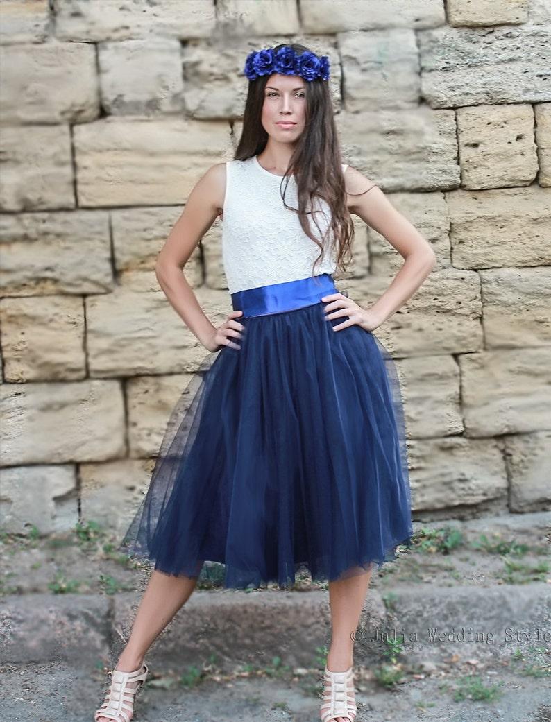 Tulle Jupe marine en jupe bleu tutuEtsy bleu en tulle jupe n0OPwkX8