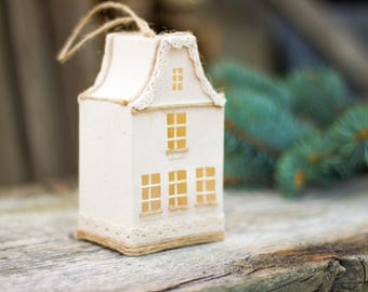 Christmas home decor, Xmas decorations, White house Christmas tree ornament, Christmas presents, Gift for him