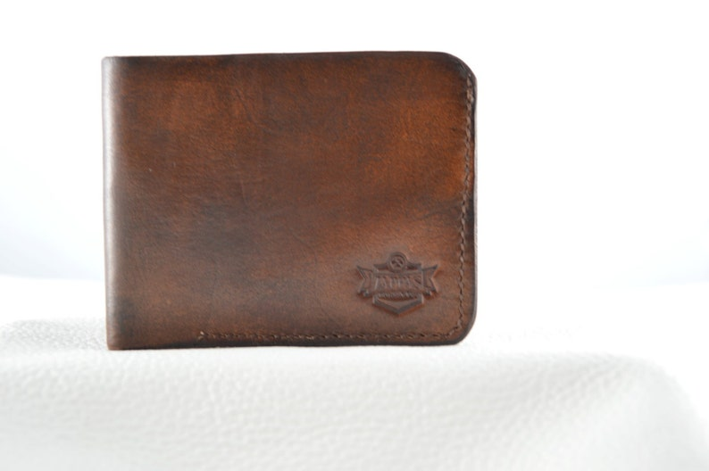 Hand made leather wallet image 0