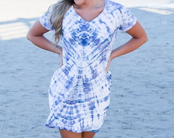 new high enjoy clearance price many choices of Tie dye beach dress   Etsy