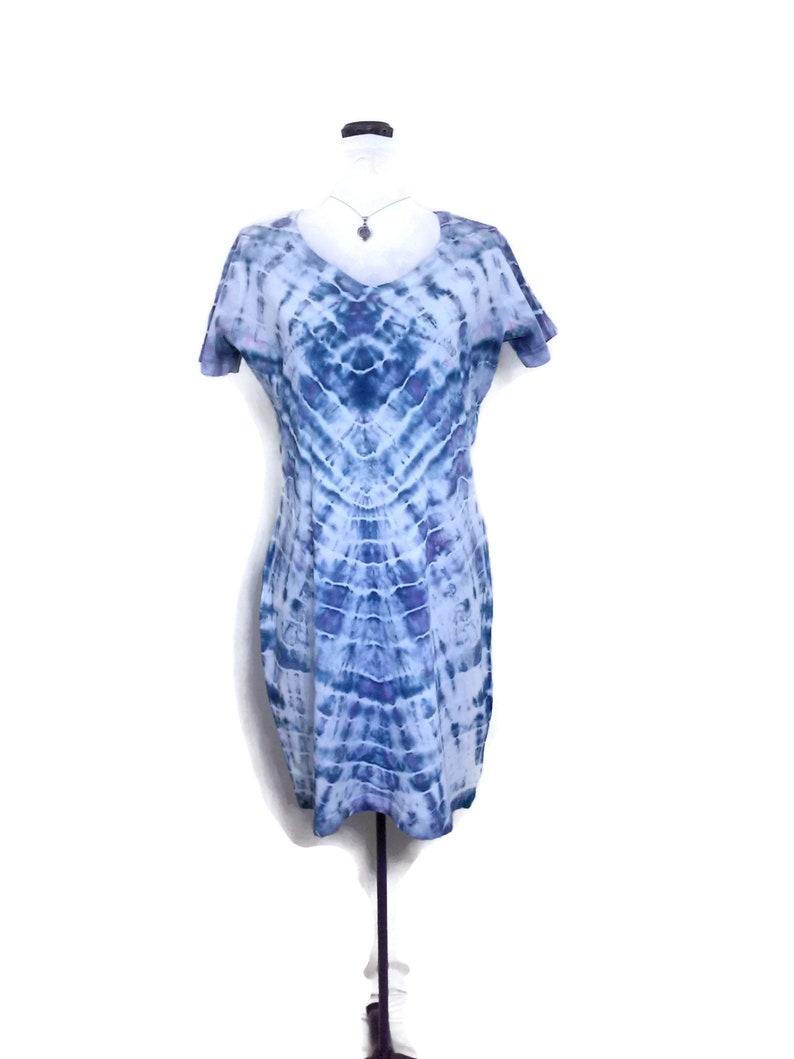 2c8e8ad38f9 T shirt dress Tie dye dress Beach cover up Summer boho
