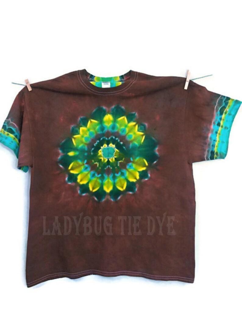 dd6f8a22bcdc Earth day shirt Nature inspired tie dye shirt Tye dye