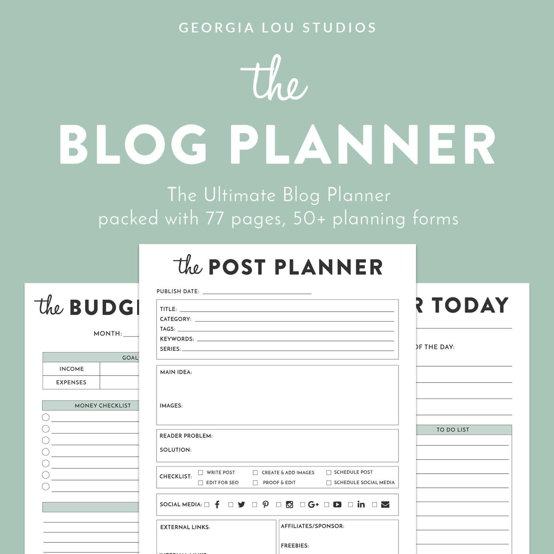 Image result for blog planner