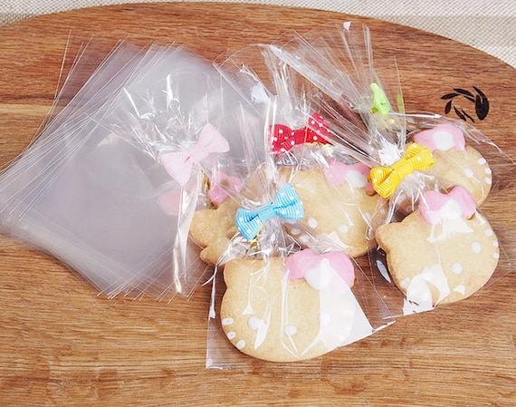 Sweets Cookies 100pcs Lace Cellophane Lollipop Bags Display Bags Crafts Wrap