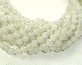 Moonstone Beads, 5.8mm Round Beads, 15.5 Inch, Full strand, Approx 68 beads, Hole 0.8mm, A quality (321054017)
