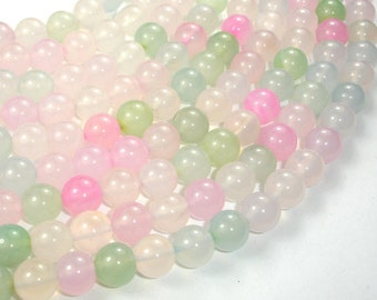 Agate Beads, Round, 10 mm, 15 Inch, Full strand, Approx 38 beads, Hole 1 mm, A+ quality (122054169)