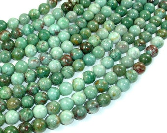 Dragon Blood Jasper Beads, 8mm(8.4mm) Round Beads, 15.5 Inch, Full strand, Approx 49 beads, Hole 1 mm, A quality(207054003)
