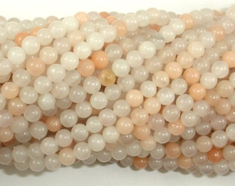 Pink Aventurine Beads, 4mm (4.5 mm) Round Beads, 15.5 Inch, Full strand, Approx 92 beads, Hole 0.8mm (353054010)