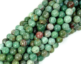 Dragon Blood Jasper Beads, 6mm Round Beads, 16 Inch, Full strand, Approx 65 beads, Hole 0.8 mm, A quality(207054004)