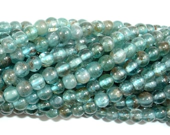 Apatite Beads, 4.5mm Round Beads, 15.5 Inch, Full strand, Approx 88-98 beads, Hole 0.8mm (120054006)