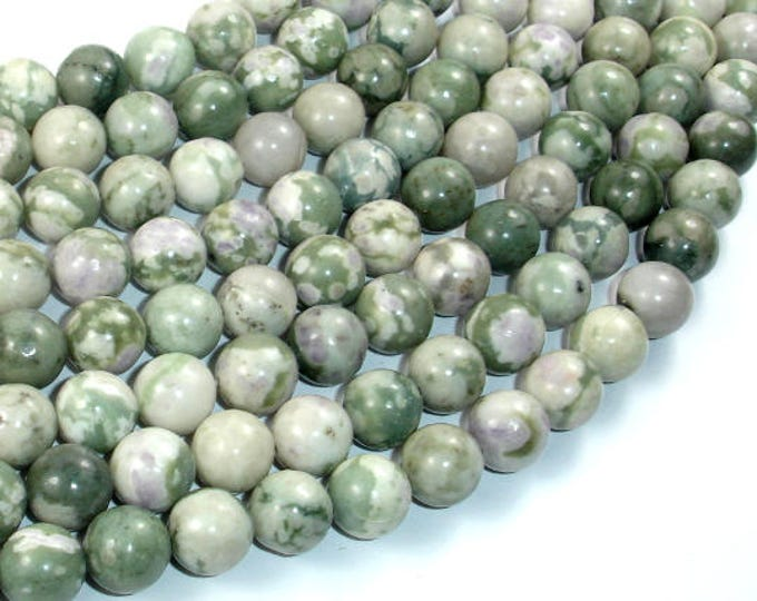 Peace Jade Beads, 10mm Round Beads, 15.5 Inch, Full strand, Approx 39 beads, Hole 1mm (338054004)
