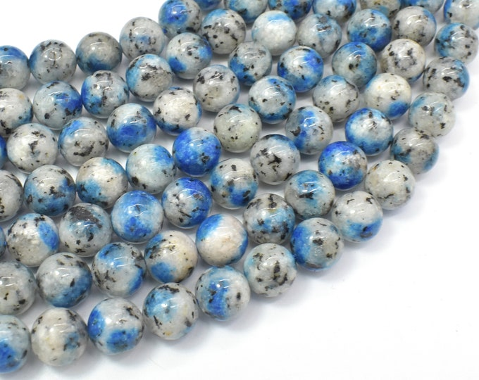K2 Jasper, 10mm (10.3mm) Round Beads, 15.5 Inch, Full strand, Approx 39 beads, Hole 1mm (277054002)