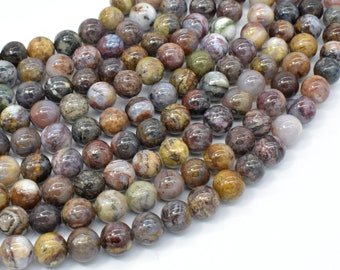 Pietersite Beads, 8mm Round Beads, 16 Inch, Full strand, Approx 50 beads, Hole 0.8mm, A- quality (346054008)