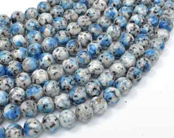 K2 Jasper, 8mm (8.4mm) Round Beads, 15 Inch, Full strand, Approx 46 beads, Hole 1mm (277054001)