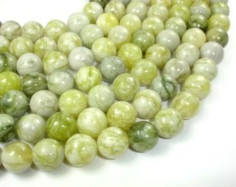 Jasper Beads, 14mm Round Beads, 15 Inch, Full strand, Approx 28 beads, Hole 1 mm, A quality (344054007)
