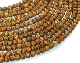 Crackle Tibetan Agate, 6mm Round Beads, 14 Inch, Full strand, Approx 64 beads, Hole 1.2mm (122054265)