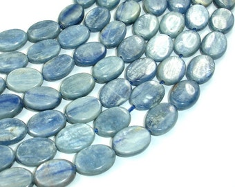 Kyanite Beads, 10x14mm Oval Beads, 16 Inch, Full strand, Approx 29 beads, Hole 1 mm (294030008)