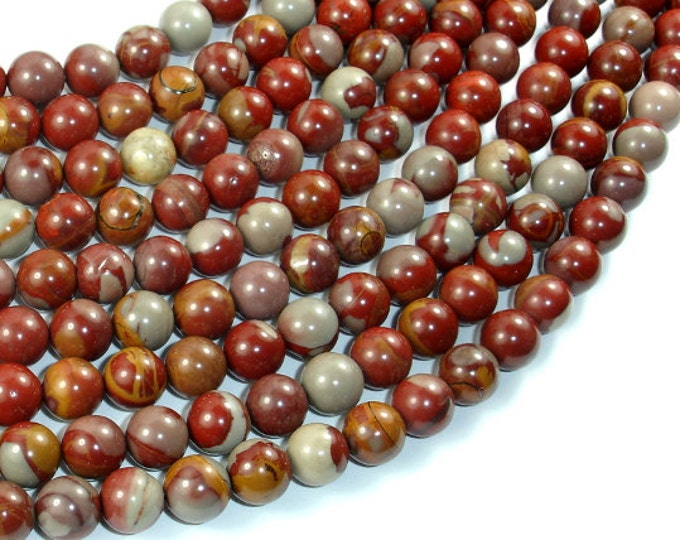 Noreena Jasper, 8mm Round Beads, 15.5 Inch, Full strand, Approx 48 beads, Hole 0.8mm, A quality (324054002)