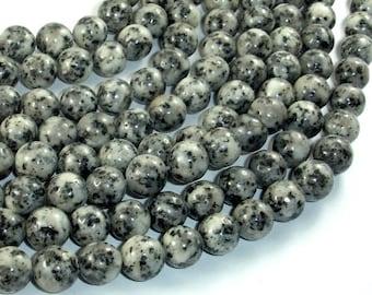 Sesame Jasper Beads, 10mm (10.3mm) Round Beads, 15 Inch, Full strand, Approx 39 beads, Hole 1mm (402054008)