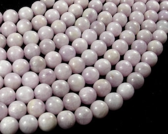 Kunzite Beads, 9mm(9.3mm) Round Beads, 15.5 Inch, Full strand, Approx 43-44 beads, Hole 1mm (293054006)