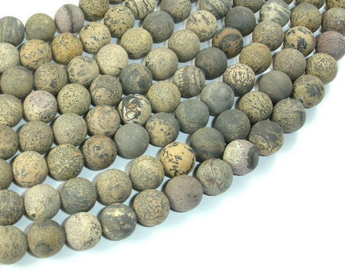 Matte Artistic Jasper, Chohua Jasper, 10mm Round Beads, 16 Inch, Full strand, Approx 40 beads, Hole 1mm, A quality (119054018)