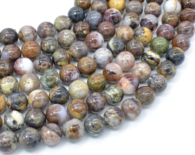 Pietersite Beads, 10mm Round Beads, 16 Inch, Full strand, Approx 40 beads, Hole 1mm, A- quality (346054009)