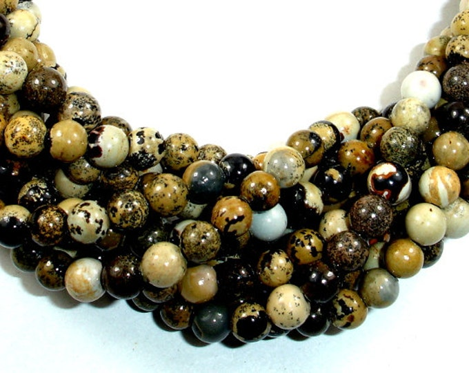 ArtisticBeads, Round, 6 mm, 15 Inch, Full strand, Approx 62 beads, Hole 1 mm, A+ quality (119054006)