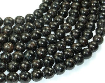 Astrophyllite Beads, 10mm(10.5mm) Round Beads, 15.5 Inch, Full strand, Approx 38 beads, Hole 1mm, A quality (126054001)