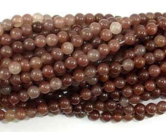 Purple Aventurine Beads, 4mm(4.5mm) Round Beads, 15.5 Inch, Full strand, Approx 92 beads, Hole 0.8mm (360054002)