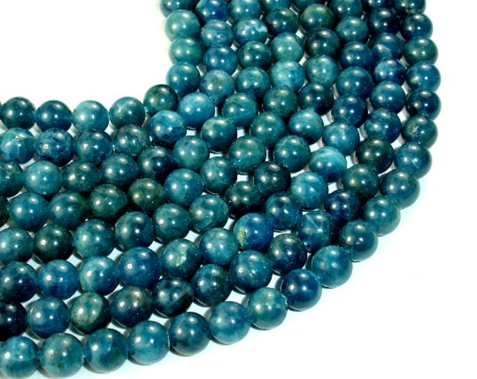 Apatite Beads, 6mm Round Beads, 15.5 Inch, Full strand, Approx 65-68 beads, Hole 0.8mm  (120054005)