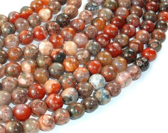 Agate Beads, Round, 7.5mm, 15.5 Inch, Full strand, Approx 56 beads, Hole 1 mm (122054157)