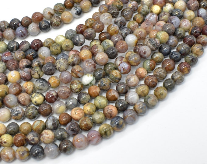 Pietersite Beads, 6mm (5.8mm) Round Beads, 16 Inch, Full strand, Approx 70 beads, Hole 0.8 mm, A- quality (346054007)