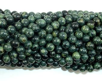 Kambaba Jasper, 4mm (4.5 mm) Round Beads, 15.5 Inch, Full strand, Approx 94 beads, Hole 0.8mm, A+ quality (290054008)