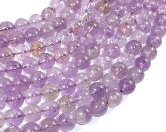Ametrine, 10mm (9.8mm) Round Beads, 16 Inch, Full strand, Approx 41 beads, Hole 1mm (116054006)
