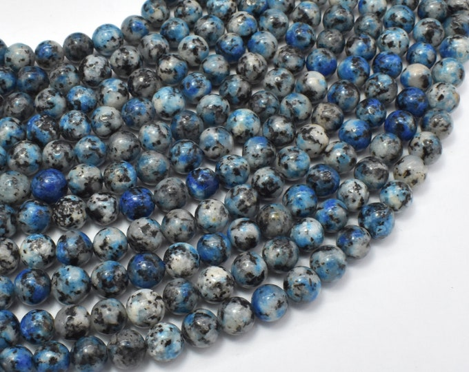 Granite Jasper, 6mm (6.5mm) Round Beads, 15 Inch, Full strand, Approx 64 beads, Hole 1mm, Imitation K2 Jasper (288054045)