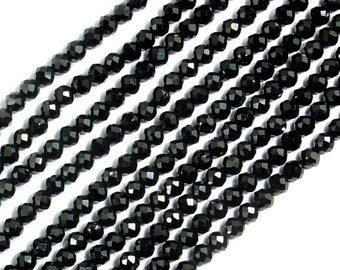 Spinel Beads, 2mm Faceted Round Beads, 13 Inch, Full strand, Approx 160 beads, Hole 0.3mm, AA quality (412025001)