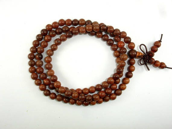 6.3mm 011737001 25 Inch Rosewood Beads 6mm Round Beads Approx 108 Beads,