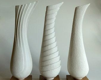 Sculptural bird forms