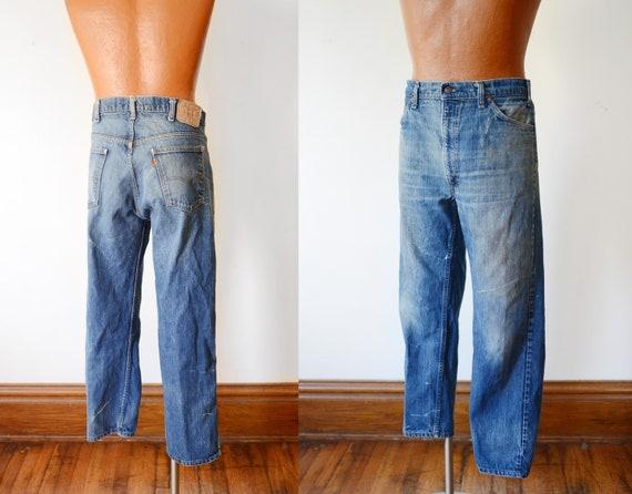 Vintage Blue Levis Jeans